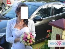Wyjątkowa suknia ślubna+dodatki gratis