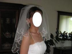 wyjątkowa suknia śłubna ecru koronka
