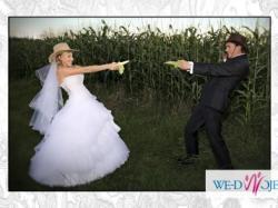 wyjątkowa suknia ślubna Emmi Mariage model Diamante
