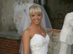 Wyjątkowa Suknia ślubna Farage Galaxy 4000 ; Cena 1230zł