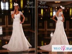 Wyjątkowa suknia ślubna firmy Emmi Mariage, model: Preludium