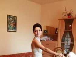 Wyjątkowa suknia Ślubna francuskiej firmy Cymbeline