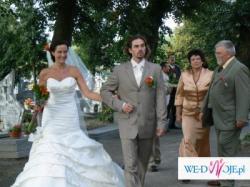 Wyjatkowa suknia ślubna Gala , Irin