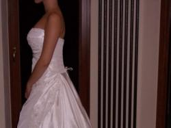 WYJĄTKOWA suknia ślubna, gratis welon i bolerko !!!