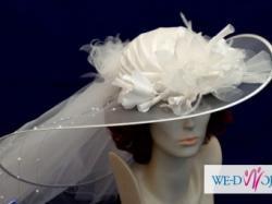 Wyjątkowa suknia ślubna Miss Kelly r.38 ecru model Casablanca + dodatki