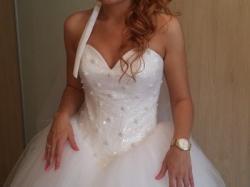 Wyjątkowa suknia ślubna plus poprawinowa!