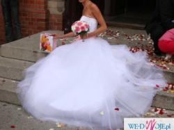 Wyjątkowa suknia ślubna princessa 34/36