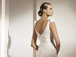 Wyjątkowa suknia ślubna Pronovias model Marlene