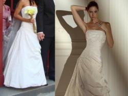 Wyjątkowa suknia ślubna PRONOVIAS Nepal ecru, r.36-38
