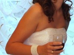 Wyjątkowa Suknia ślubna przywieziona z Kanady
