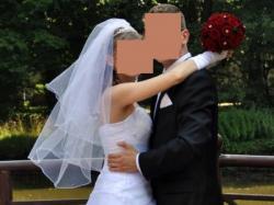 Wyjątkowa suknia ślubna rozm. 36/38  Olsztyn - OKAZJA!!!