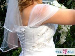 Wyjątkowa suknia ślubna, rozm. 40-42
