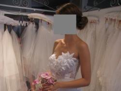 Wyjątkowa suknia ślubna ( rozmiar 34-36)