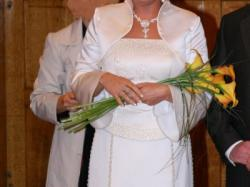 """Wyjątkowa suknia ślubna-""""Rybka"""""""