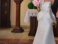 Wyjątkowa Suknia ślubna Sposabella z beskinką model 1336