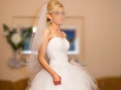 WYJĄTKOWA suknia ślubna WHITE LADY rozm. 34 / 36