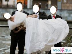 Wyjątkowa suknia ślubna z salonu Farage, model PAM