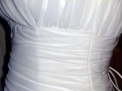 Wyjątkowa suknia ślubna z szalem !! + dodatki muślin 36/38