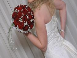 wyjątkową suknię ślubną