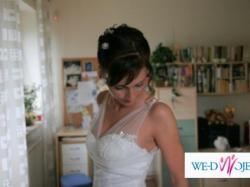 Wyjątkowo piękna suknia ślubna MARIEES DE PARIS