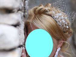 Wyjątkowy fascynator ślubny