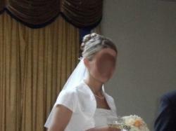 Wyjątkowy model sukni ślubnej Agnes 2008