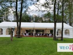 Wynajem hal namiotowych, namiotów, namioty bankietowe Warszawa mazowieckie