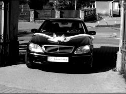 Wynajem Samochodu do Ślubu Mercedes klasy S Wesela