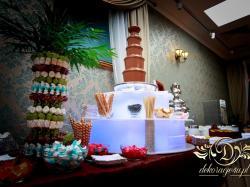 Wynajm fontanny czekoladowej na wesele