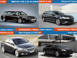 Wypożyczania samochodów Warszawa