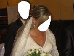 wyrafinowana suknia ślubna