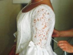 Wyszczuplająca francuska suknia CYMBELINE