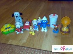 Zabawki z jajek nispodzianek i mac donaldów