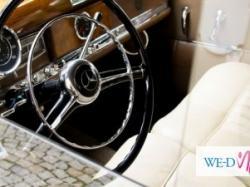 Zabytkowa limuzyna Mercedes Benz 300 z 1953r. do ślubu