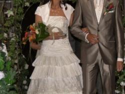 Zachwycająca suknia ślubna firmy Sincerity Bridal kolekcja 2009
