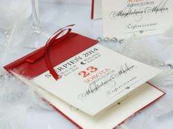 zaproszenia podziękowania pudełeczka księgi albumy gadżety