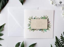 Zaproszenia ślubne i okolicznościowe
