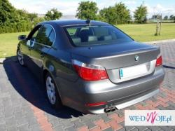 Zawiozę do ślub BMW E60 Międzyrzec Podlaski