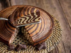Zebra z czekoladą