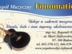 Zespół weselny FONOMATIC