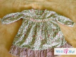zestaw sukienek na ŚWIĘTA+body Sukienka ZIMA 80cm (Bebe Confort i inne)