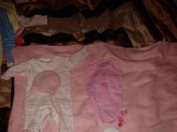 Zestaw ubranek dla dziewczynki 0-3 miesiący