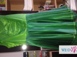 zielona sukienka nowa