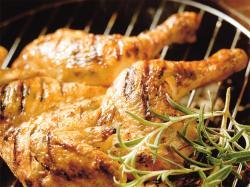 Ziołowy kurczak z grilla - przepis