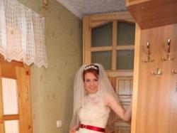 Zjawiskowa, bajeczna, koronkowa suknia ślubna r. 36/38.