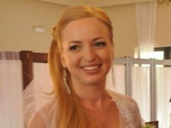 zjawiskowa biała suknia ślubna 2013
