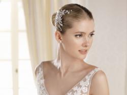 Zjawiskowa, romantyczna suknia ślubna LA SPOSA księżniczka perła
