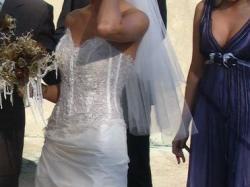 Zjawiskowa suknia CYMBELINE model ANAIS/BERTINE