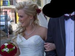 Zjawiskowa suknia ślubna!!!
