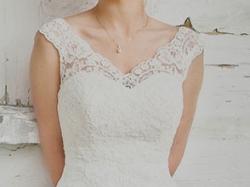 Zjawiskowa suknia ślubna+bolerko